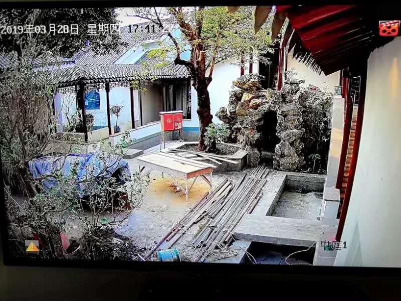 中式园林别墅安防案例